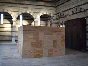Preview picture exhibit Flavio Favelli Corona Santa Maria della Spina Pisa