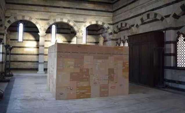 Foto mostra Flavio Favelli Corona Santa Maria della Spina Pisa