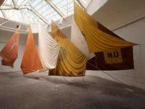 Preview picture exhibit Jannis Kounellis Un'opera per ricordare - A work to remind