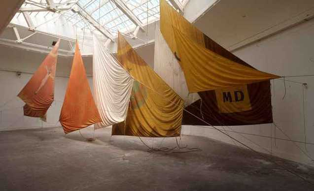 Foto mostra Jannis Kounellis Un'opera per ricordare - A work to remind