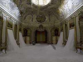 Preview picture exhibit Gian Maria Tosatti Il mio cuore è vuoto come uno specchio Palazzo Biscari Catania