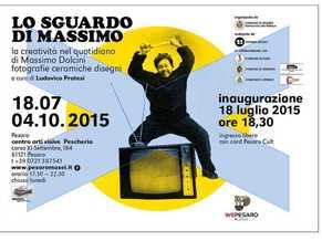 Preview picture exhibit MASSIMO DOLCINI Lo sguardo di Massimo