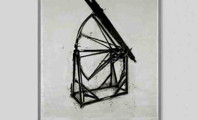 Foto mostra Marco Tirelli Il disegno come sguardo sul mondo